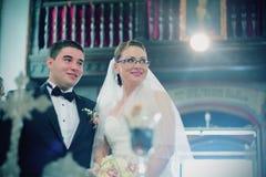 Religijna ślubna ceremonia Zdjęcia Royalty Free