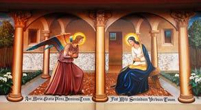 religijna malowidło ściany zdjęcie royalty free