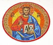 Religijna mozaika Zdjęcia Stock