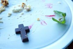 Religijna obsesja z jedzeniem obrazy royalty free