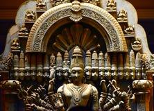 Religijna rzeźby tła zapasu fotografia Obraz Royalty Free