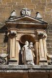 Religijna rzeźba, Aguilar de los angeles Frontera Zdjęcia Royalty Free