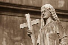 Religijna statua Zdjęcia Stock