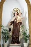Religijna statua, Mijas obraz royalty free