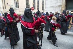 Religijni świętowania Wielkanocny tydzień, Hiszpania Zdjęcie Stock