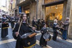 Religijni świętowania Wielkanocny tydzień, Hiszpania Fotografia Stock