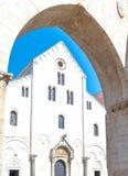 Religijni budynki Bari Obrazy Stock