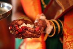 Religijny Ślubny rytuał fotografia royalty free