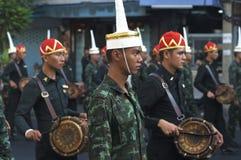 Religijny korowód w Tajlandia Zdjęcia Stock