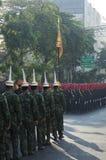 Religijny korowód w Tajlandia Obraz Royalty Free