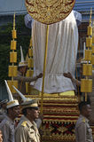 Religijny korowód w Tajlandia Obrazy Royalty Free