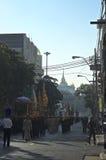 Religijny korowód w Tajlandia Obraz Stock