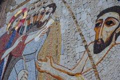 Religijny malowidło ścienne Obraz Royalty Free