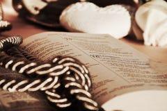 Religijny msza w roczników odcieniach Obrazy Royalty Free