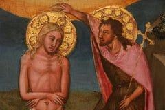 Religijny obraz w Rzym obraz royalty free