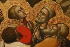 Religijny obraz w Rzym fotografia stock