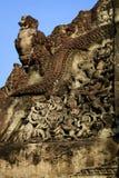 Religijny Pediment w Angkor Wat Zdjęcie Stock