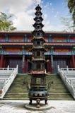 Religijny wierza w świątyni Zdjęcia Royalty Free