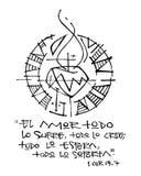 Religijny zwrot w hiszpańskim, ilustracja royalty ilustracja