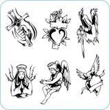 Religião cristã - ilustração do vetor. Fotos de Stock Royalty Free