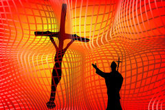 Religion. Concept representation in this graphic illustration Royalty Free Stock Photos