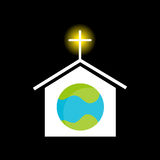 Religion Across the Globe Royalty Free Stock Photography
