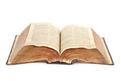 Religion. alte Bibel Lizenzfreies Stockbild