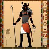 Religion of Ancient Egypt Royalty Free Stock Images