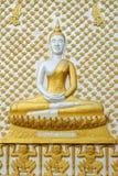 Religion bouddhiste murale en Thaïlande Photo libre de droits