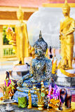 Religion Buddha-Statue am Tempel, Thailand buddhismus fromm lizenzfreie stockfotos