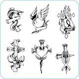 Religion chrétienne - illustration de vecteur. Photos stock