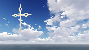 Religion cross Stock Photo