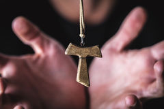 Religion and crucified Royalty Free Stock Photo