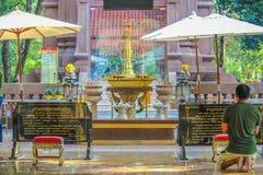 Religion de la Thaïlande Photos libres de droits