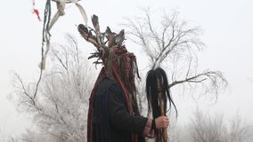 Religion de nomade, religion de Tengri, facteur prédictif banque de vidéos