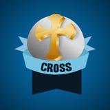 Religion design. Religion digital design, vector illustration 10 eps graphic Royalty Free Stock Image