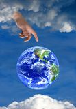 religion för hope för himmel för jordtrogud Arkivbilder