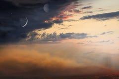 Religion für die Person Heiliger Himmel Stockfoto