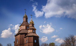 Religion and faith. Old Orthodox Church Royalty Free Stock Image