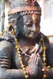 Religion Figure - Nepal. Old Religion Figure - Nepal, Khumbu - Aisa Royalty Free Stock Photo