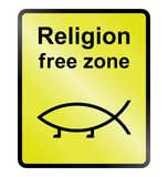 Religion Free Zone Royalty Free Stock Image