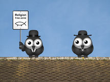 Religion Free Zone Royalty Free Stock Images