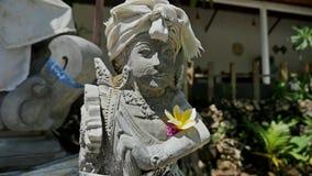 Religion Hinduism Statue Culture Travel Indonesia stock video