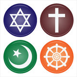 Religion icon Royalty Free Stock Photo