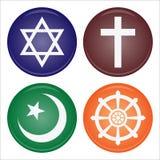 Religion icon stock illustration