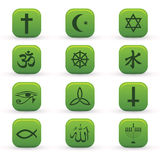 Religion Icons Royalty Free Stock Photos