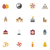 Religion icons. Illustration of religion icons Stock Photography