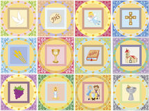 Religion icons Royalty Free Stock Images