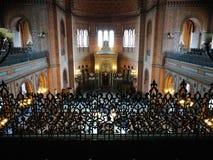 Religion juive Regard artistique dans des couleurs vives Photographie stock