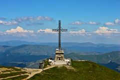 Religion, la grande croix Images stock
